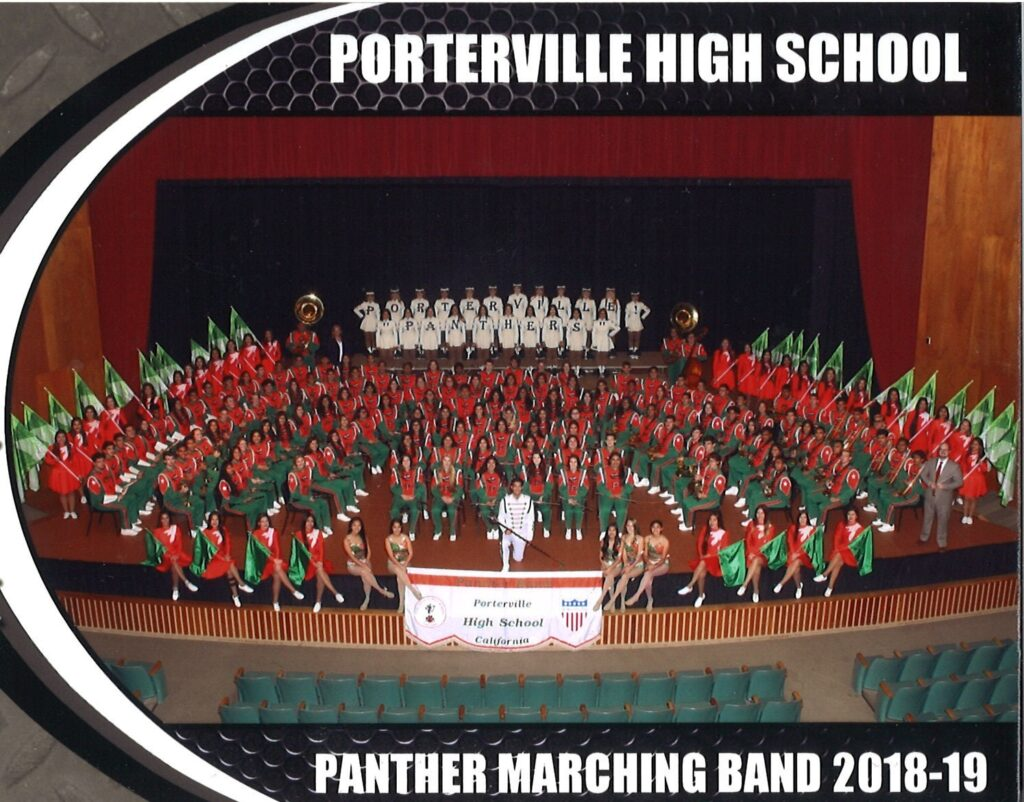 Hollywood Christmas School 2020 Porterville Panther Band   The Hollywood Christmas Parade